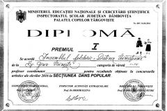 Diploma Datina Voinesteana I-IV