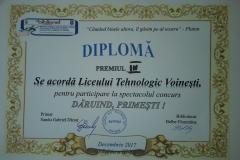 Premiul III - Concursul Dăruind, primești!