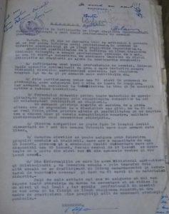 Memoriu pentru înfiinţarea şcolii înaintat de ing. Nicolae-Ştefan